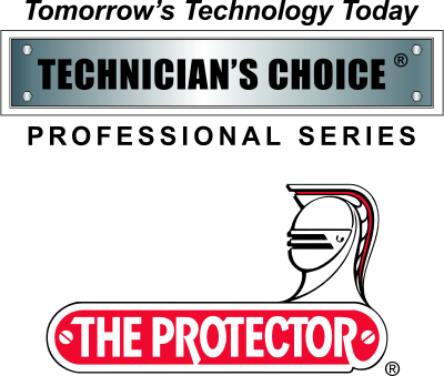 technicians choice and the protector logos